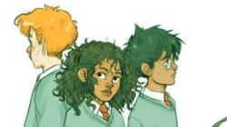 Et si Harry Potter et Hermione étaient noirs de