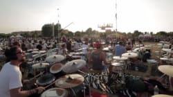 1000 musiciens reprennent une chanson des Foo Fighters pour les faire venir en