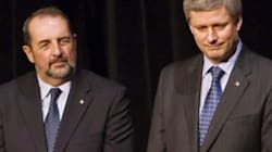 Harper's Minister And His Bloc Quebecois
