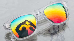 Vancouver Rainbow Sunglasses Look Good AND Help LGBT