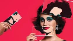 Katy Perry en Elizabeth Taylor pour Harper's