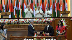 Historic: India And Bangladesh Exchange 162 Enclaves At
