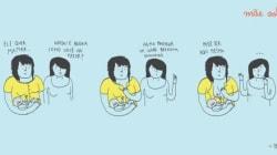 TIRINHA: Seios de mães servem pra amamentar. Lidem com