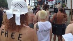Ontario: manifestation pour défendre le droit de circuler seins nus
