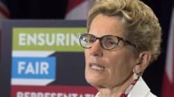 Kathleen Wynne ne veut pas d'une campagne électorale