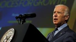 Joe Biden, adversaire d'Hillary Clinton aux primaires