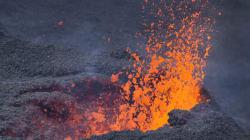 Fin de l'éruption du Piton de la Fournaise