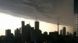 LOOK: Rain And Hail Hit Southern Ontario