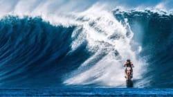 De la moto sur l'eau? C'est possible mais pas très