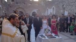 In Siria il primo matrimonio in una chiesa distrutta diventa simbolo di speranza
