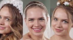 Voyez 50 ans de coiffures de mariage en moins de deux minutes