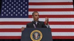 Obama joue sa postérité sur le réchauffement