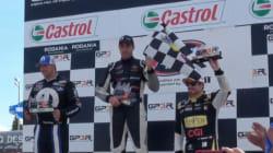 GP3R : un podium entièrement québécois au Nascar Canadian Tire