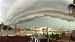 Impressionnantes tempêtes photographiées en Ontario