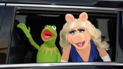 Kermit la grenouille et Peggy la cochonne se
