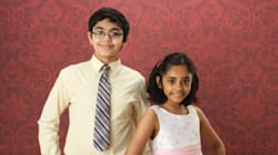 One Indian-American Family, Two Child