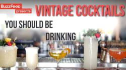 Vintage Cocktails You've Been Forgetting About This