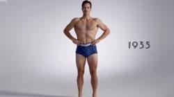 Voyez l'évolution du maillot de bain pour hommes en trois minutes