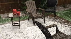 Seriously? Calgary Gets Pummelled With Intense Hail