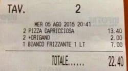 Alla festa del Pd una spolverata di origano sulla pizza costa un euro in
