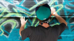 Le graffiti à l'honneur ce