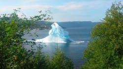 Quand un iceberg fait un tonneau dans