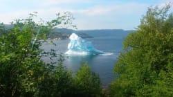 Watching An Iceberg Crack Is Damn