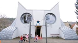 Cat-Shaped Kindergarten Makes Us All Want To Go Back To