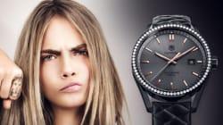 Cara Delevingne vend sa montre personnelle sur Ebay pour une bonne