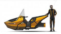 Une motomarine automatisée pour protéger les récifs