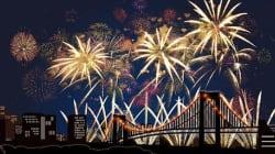 8日開催 東京湾大華火祭の天気
