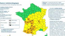 Orages: 15 départements en vigilance