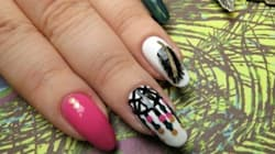 #ManiMonday: Dreamcatcher And Feather Nail