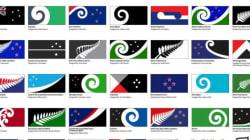 Le futur drapeau de la Nouvelle-Zélande se trouve parmi ces 40