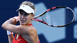 Eugenie Bouchard Out Of Rogers