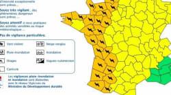 23 départements placés en alerte orange dans