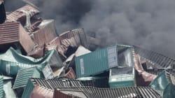 Les dégâts de l'explosion à Tianjin en