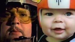 Ce papa crée des casques Star Wars à son fils opéré d'une