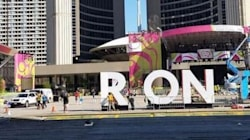 Toronto Sign Gets A Temporary