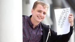 Studente senzatetto ammesso a Cambridge con il massimo dei