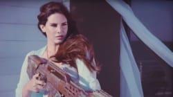 Lana Del Rey abat un hélicoptère au lance-roquettes dans son dernier