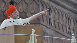 Full Text Of Narendra Modi's Independence Day Speech In