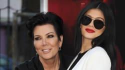 Kylie Jenner Wears Mama Kris' Vintage