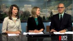 B.C. News Anchor Flawlessly Pulls Off Uranus