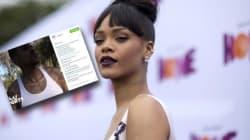 Ne faites pas croire que vous sortez avec Rihanna