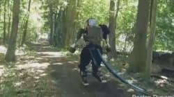 Le robot humanoïde de Google a fait un tour en forêt
