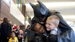 Parents Remember Superhero Who Visited Their Children In