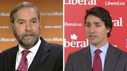 Mulcair, Trudeau To Appear On Popular Quebec TV