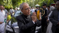 Just Hours After His Wife's Cremation, President Pranab Mukherjee Was Back At