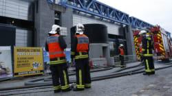 Important incendie à la Cité des